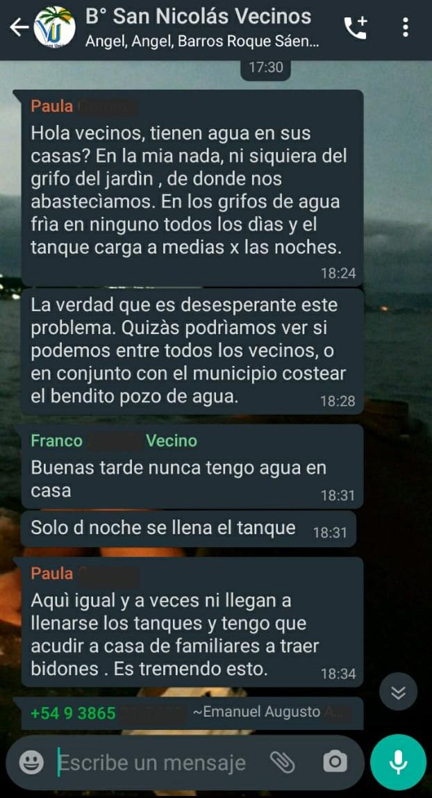 VECINOS WHATS